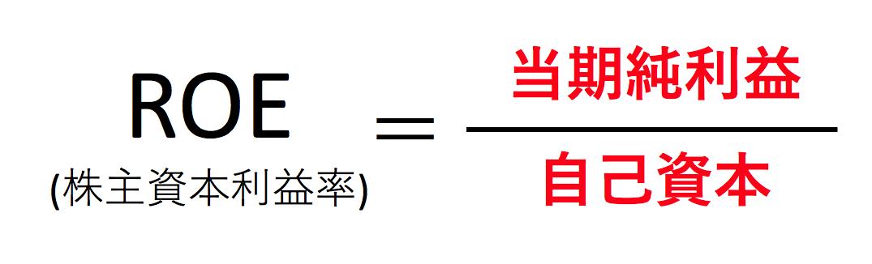 ROEの計算式